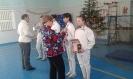 Новогодний турнир по фехтованию на саблях